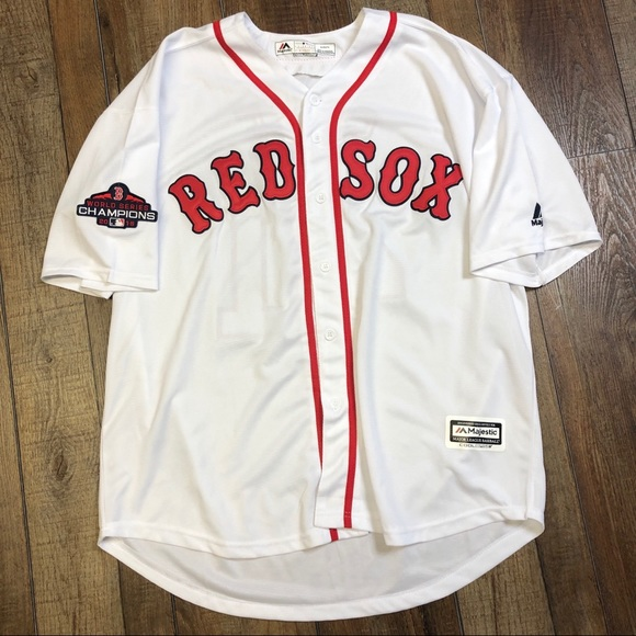wholesale dealer c379d aa345 Chris Sale Boston Red Sox World Series Jersey XL